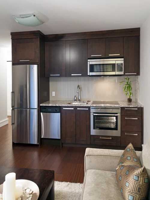 single wall kitchen design ideas remodels photos inspiration small transitional single wall eat kitchen