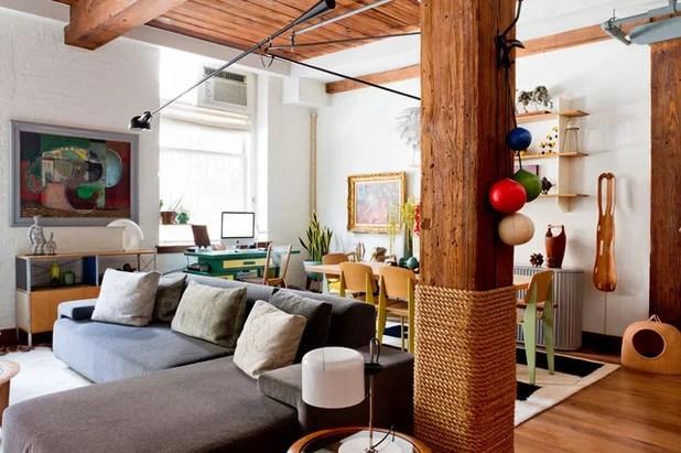 21 Creative Ways With Load Bearing Columns