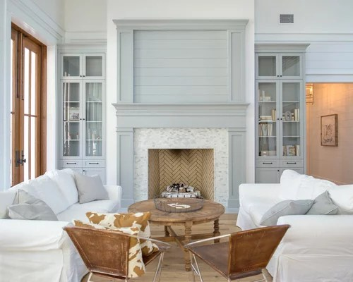 Farmhouse Living Room Ideas \ Design Photos Houzz - farmhouse living room furniture