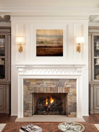 Sconces Over Fireplace | Houzz