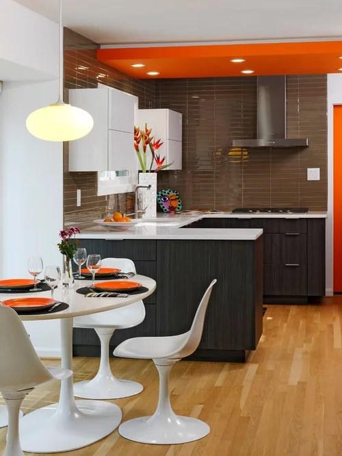 white tulip chairs home design ideas renovations photos eat kitchen designs orange gloss kitchen designs contemporary