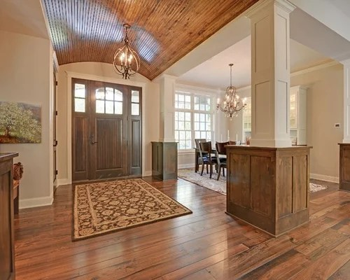 Best Entryway with Beige Walls Design Ideas \ Remodel Pictures