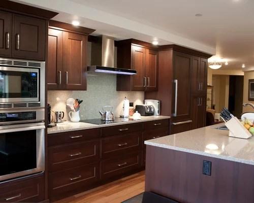 kitchen design ideas renovations photos stone slab splashback inspiration small transitional single wall eat kitchen