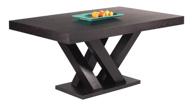 Kosas Home Kitchen Island Madero Rectangle Dining Table Small, Dark Espresso