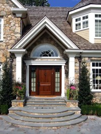 Curved Entry Steps Home Design Ideas, Pictures, Remodel ...