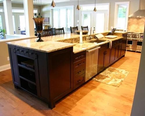 photos beige backsplash dark wood cabinets shaker cabinets small eat kitchen design photos dark wood cabinets