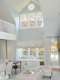 Light Blue Living Room   Houzz