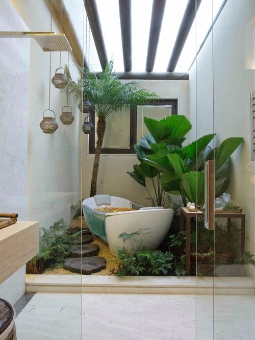 Bathroom Garden Home Design Ideas Pictures Remodel And Decor
