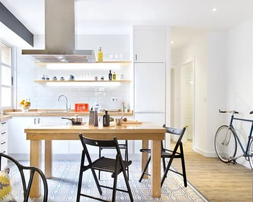 small kitchen design ideas remodel pictures white cabinets inspiration small transitional single wall eat kitchen