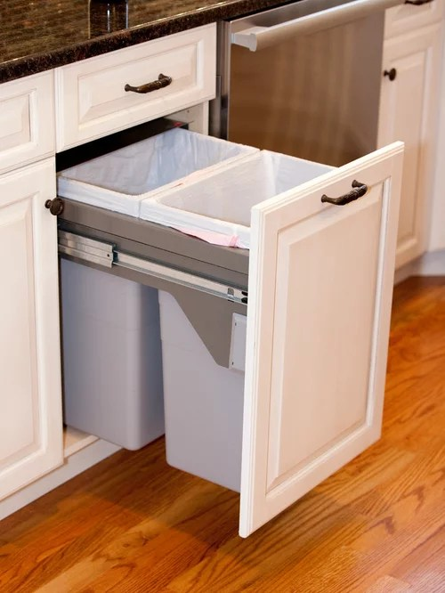Ikea Tilt Out Hamper Double Trash Bin Cabinet - Home Decor