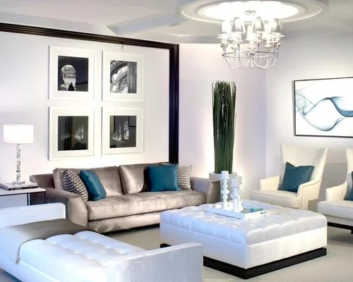 Silver Sofa Houzz - silver living room furniture