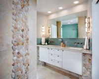 Pebble Stone Backsplash | Houzz