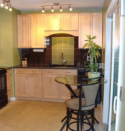 kitchen design ideas renovations photos black appliances small contemporary shaped eat kitchen idea moscow flat