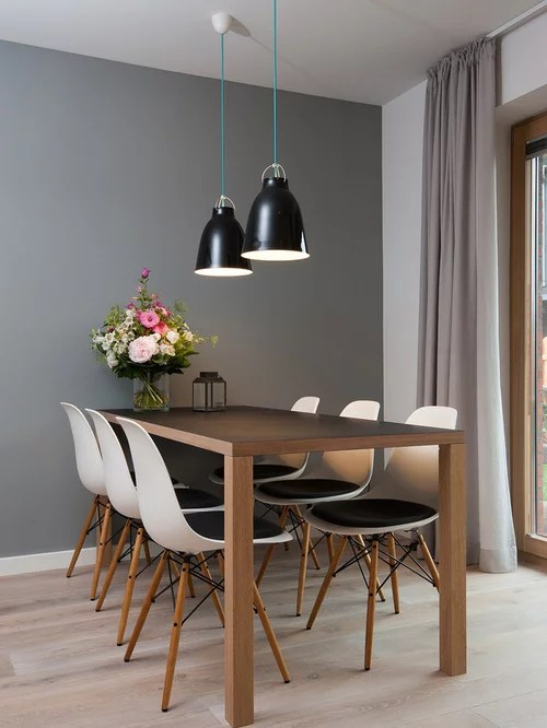 Sylt Lofts Scandinavian Dining Room Design Ideas, Remodels & Photos