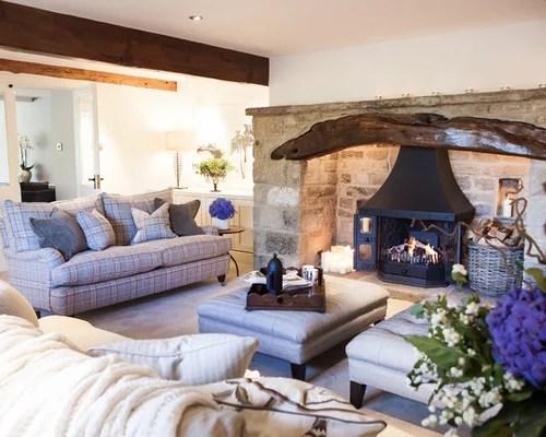 Living Room Sofa And Fireplace Houzz - houzz living room furniture