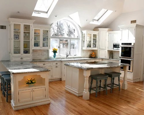 traditional shaped eat kitchen design ideas remodels photos type kitchen dining