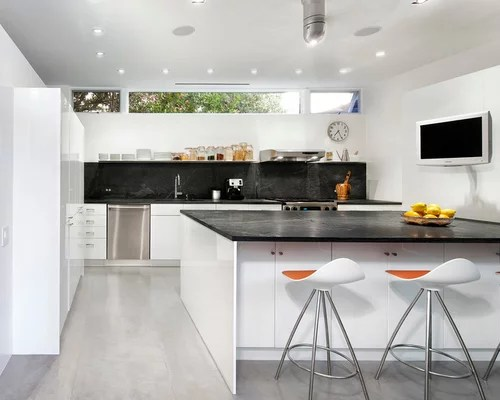 small shaped kitchen design ideas remodels photos soapstone type kitchen dining
