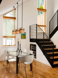 Slanted Ceiling Light | Houzz
