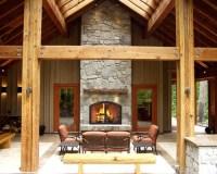 Inside Outside Fireplace | Houzz