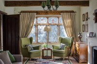 Lush Tradition: Elements of the American Tudor Living Room