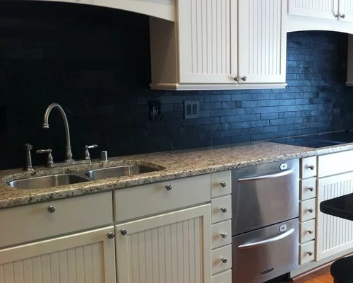 black slate backsplash home design ideas pictures remodel decor kitchen backsplash sandstone backsplash kitchen sandstone splashback