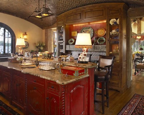 red kitchen island ideas pictures remodel decor rustic kitchen design ideas remodel pictures houzz