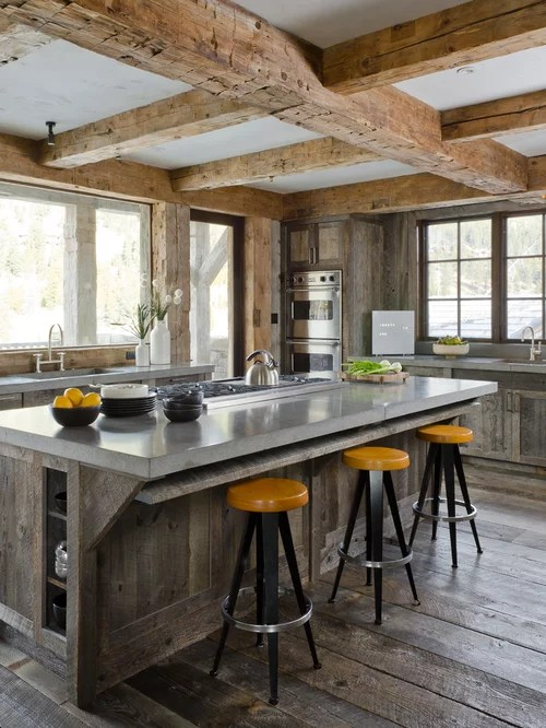 rustic kitchen idea distressed cabinets stainless steel images design rustic kitchen johngupta kitchen designs