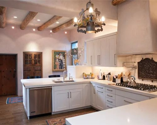Santa fe style home design ideas pictures remodel and decor