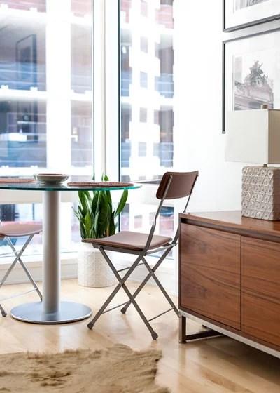 13 Ideen, wie Sie ein kleines Wohnzimmer mit Essbereich einrichten - wohnzimmer esszimmer ideen