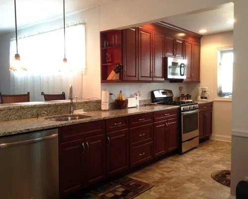 small kitchen design ideas renovations photos shaker cabinets small eat kitchen design photos dark wood cabinets