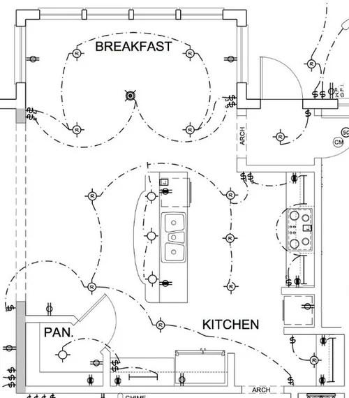 Electrical Plan For Kitchen Wiring Diagram
