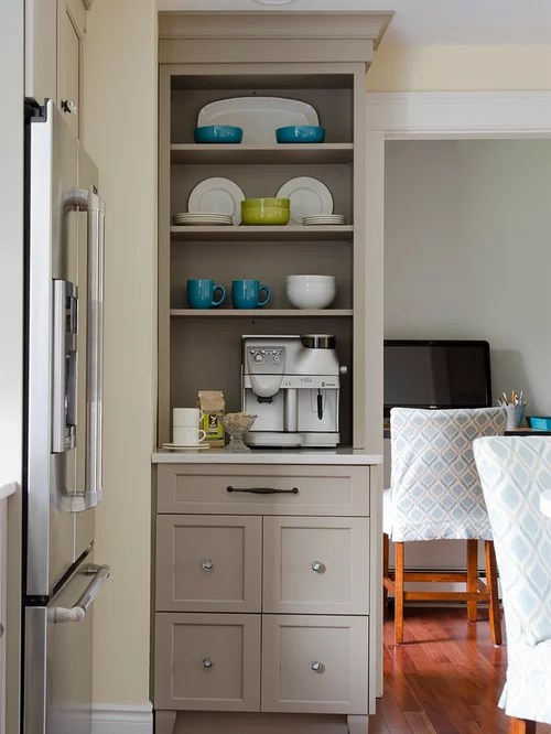 White Kitchen Cabinets And Green Backsplash Ultracraft Cabinets | Houzz