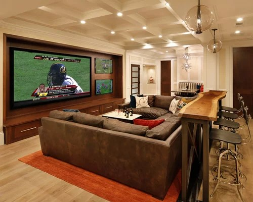 Modern Living Room Ideas On A Budget Basement Bar Behind Couch Ideas, Pictures, Remodel And Decor
