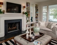 Sconces Over Fireplace Home Design Ideas, Pictures ...
