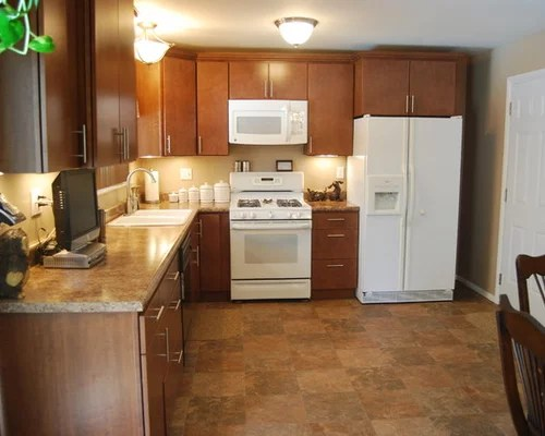 kitchen design ideas renovations photos white appliances small shaped eat kitchen design photos flat panel