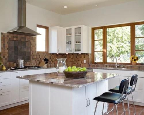 backsplash stone tile backsplash paneled appliances terra cotta ann sacks kitchen backsplash contemporary kitchen airoom