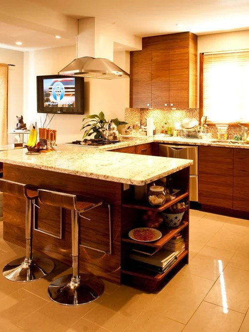 small shaped kitchen design ideas remodels photos drop transitional eat kitchen multiple islands design ideas
