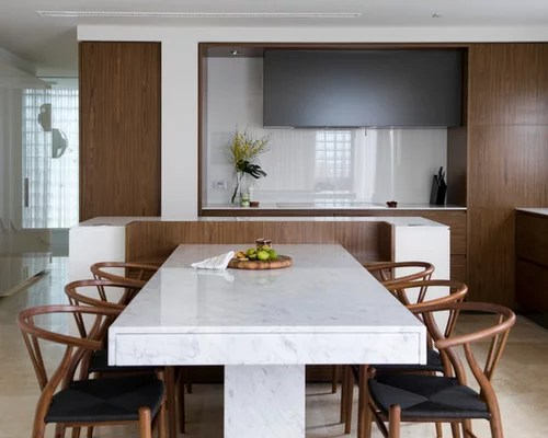 Kitchen Island Extendable Table Marble Top Dining Table | Houzz