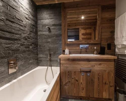 Salle de bain montagne  Photos et idées déco de salles de bain