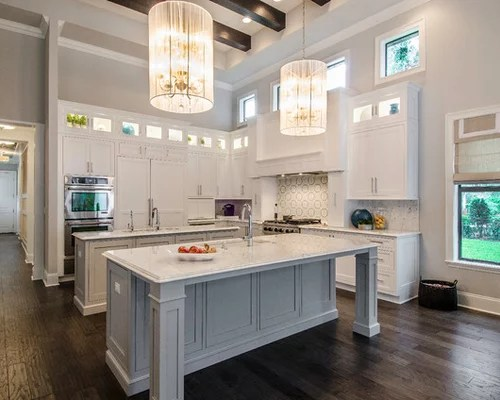 Portable Islands For Small Kitchens Best Island Overhang Design Ideas & Remodel Pictures | Houzz