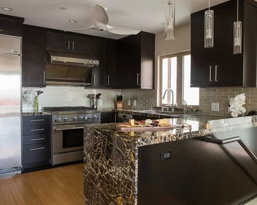 small shaped kitchen design ideas remodels photos small contemporary shaped eat kitchen idea moscow flat