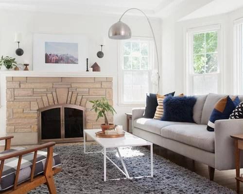 Midcentury Modern Living Room Ideas \ Design Photos Houzz - mid century modern living room