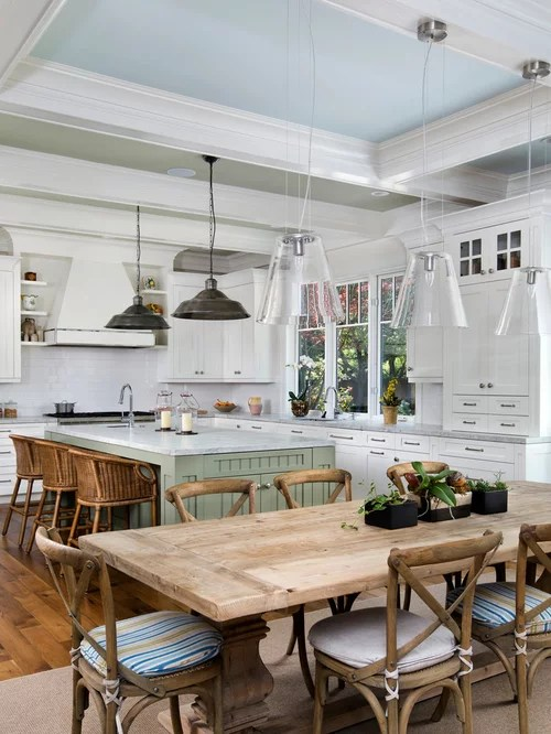 rustic trestle table home design ideas pictures remodel decor rustic kitchen design ideas remodel pictures houzz
