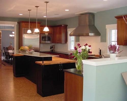 black eat kitchen cork floors design ideas remodel pictures small eat kitchen design photos cork floors