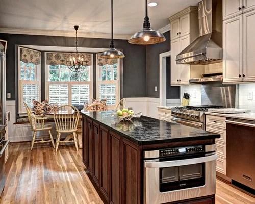 heat lamp eat kitchen design ideas renovations photos inspiration small transitional single wall eat kitchen