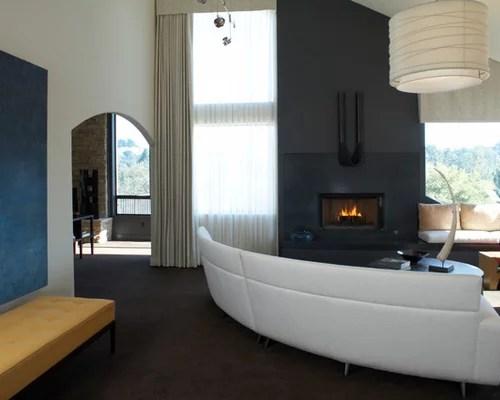 Modern Valance Designs Houzz - modern valances for living room