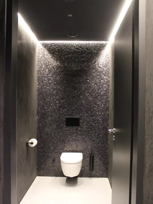 Toilette Carrelage Metro