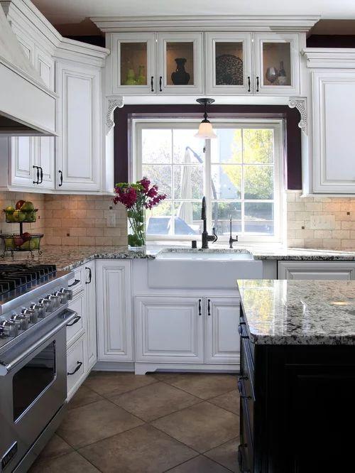 Cabinets above windows photos