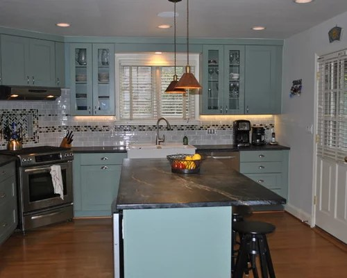 transitional kitchen design ideas renovations photos turquoise inspiration small transitional shaped kitchen remodel