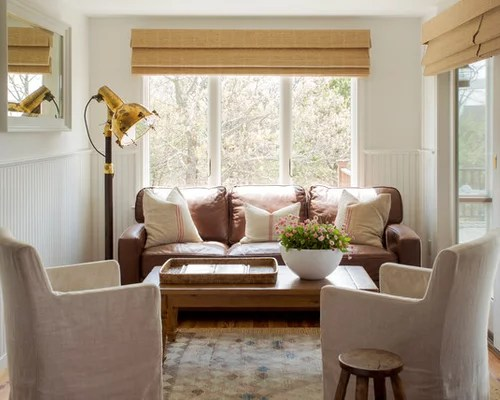 Leather Living Room Furniture Houzz - houzz living room furniture